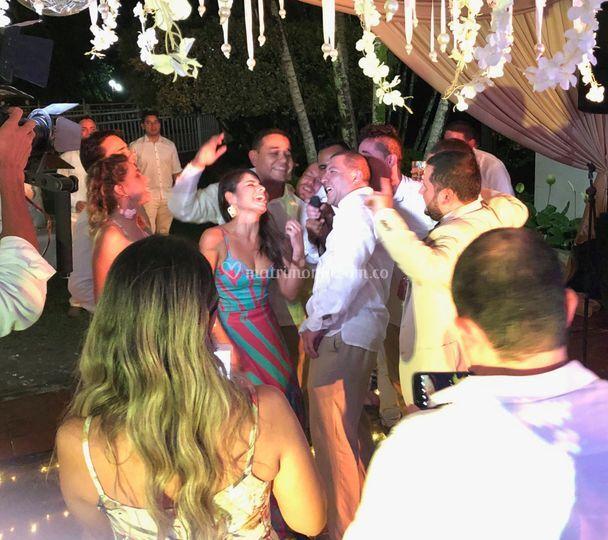 Fiesta de bodas