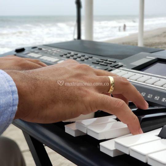 Piano en playas del Tayrona