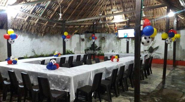Espacios para eventos de El Rincón Paisa