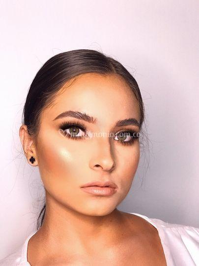 Maquillaje novia glow