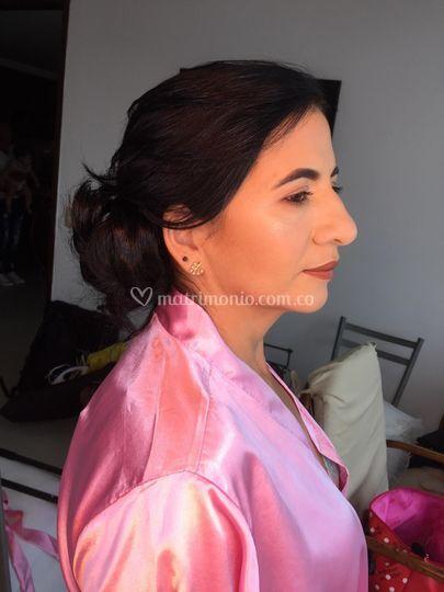 Peinado mama. De la novia