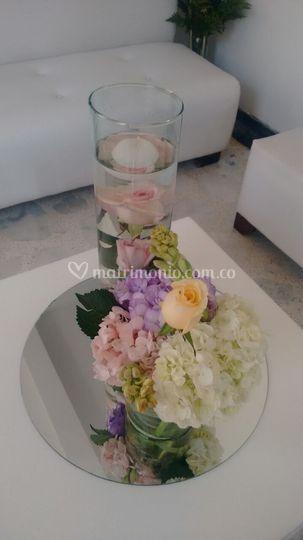 Arreglos florales salas lounge