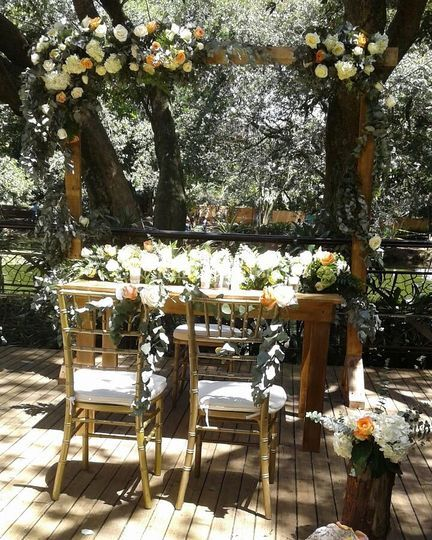 Decoración boda civil