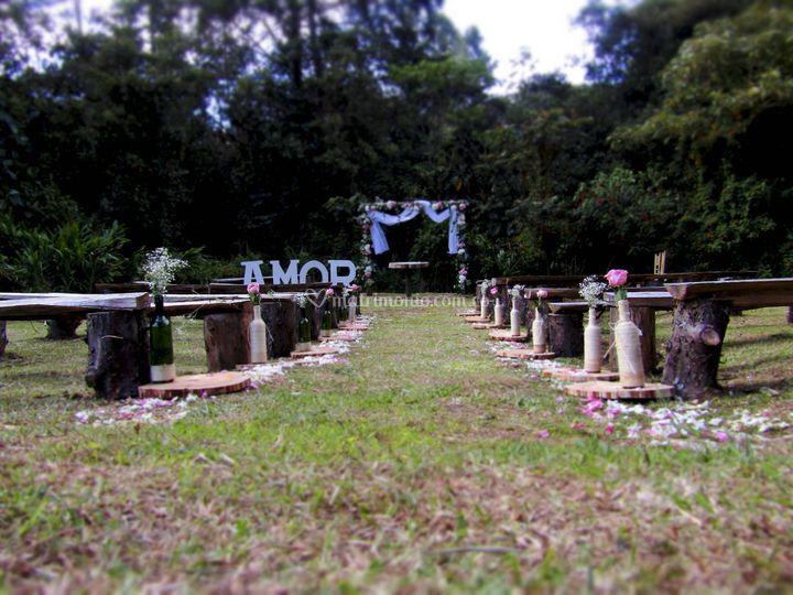 Altar al aire libre