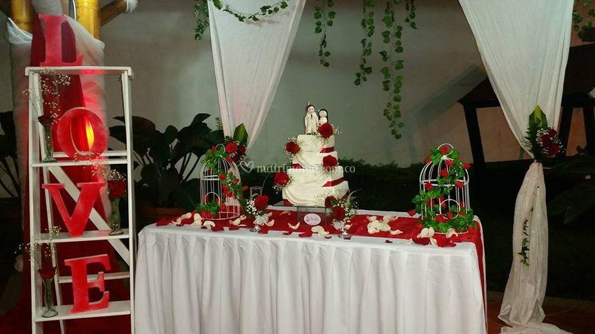 Pastel para su matrimonio