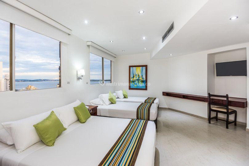 Habitación con vista