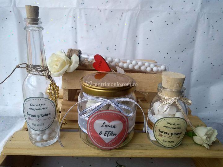 Recordatorios en frascos