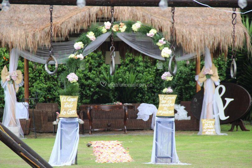 Altar campestre