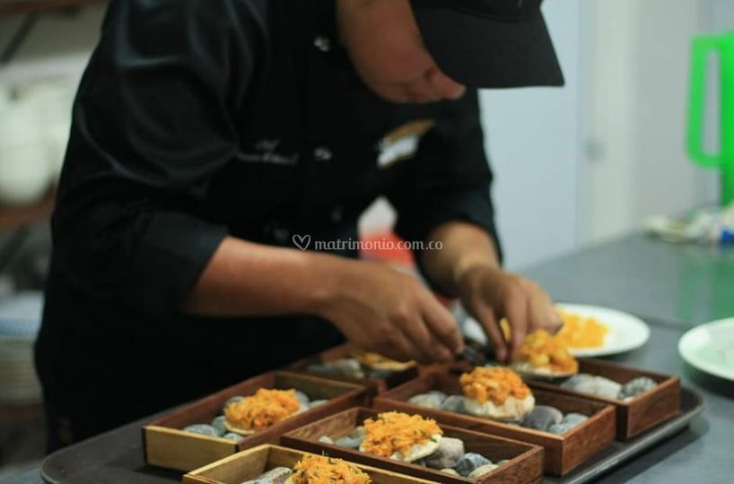 Preparación del menú