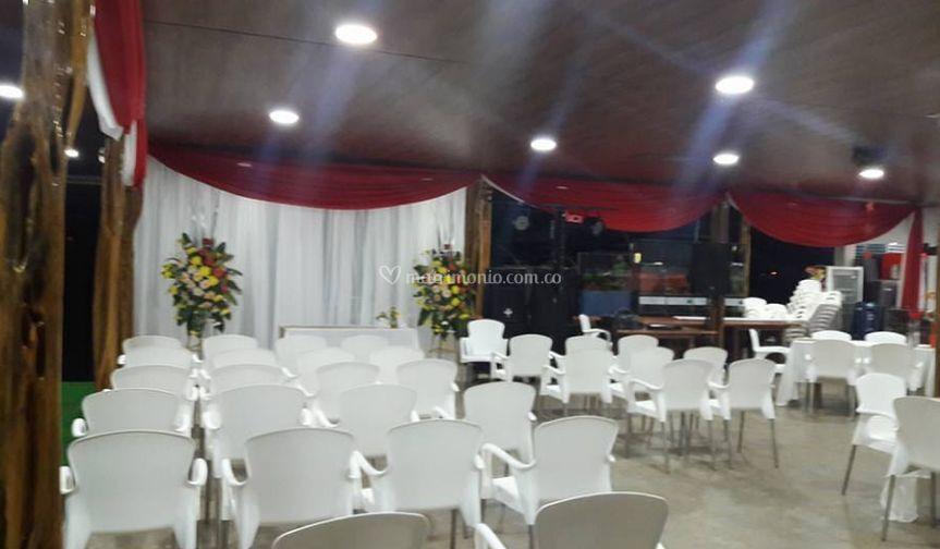 Realización de ceremoinia