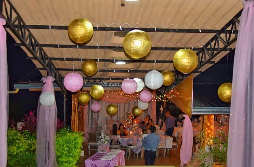 Montaje y decoraciones