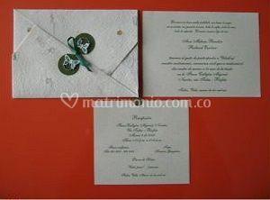 Invitaciones de boda de Gráficas Nucol