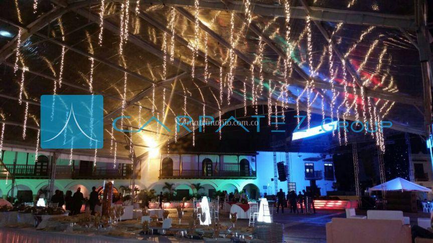 Carpas transparentes Cartagena