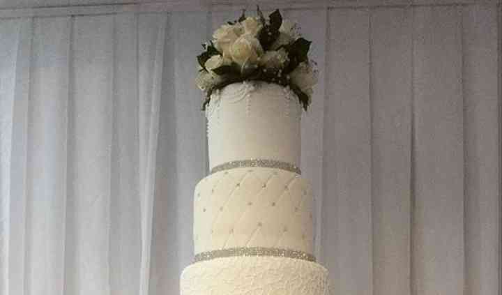 Elegante Cake de Boda