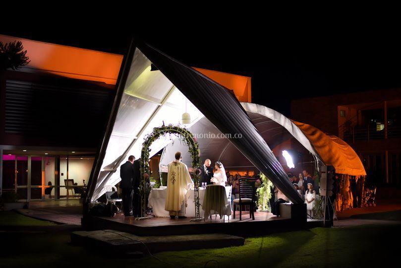 Oratorio en la noche