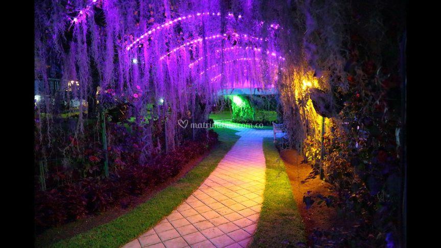 Iluminacion en tuneles