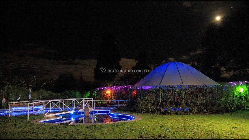 Iluminacion hacienda