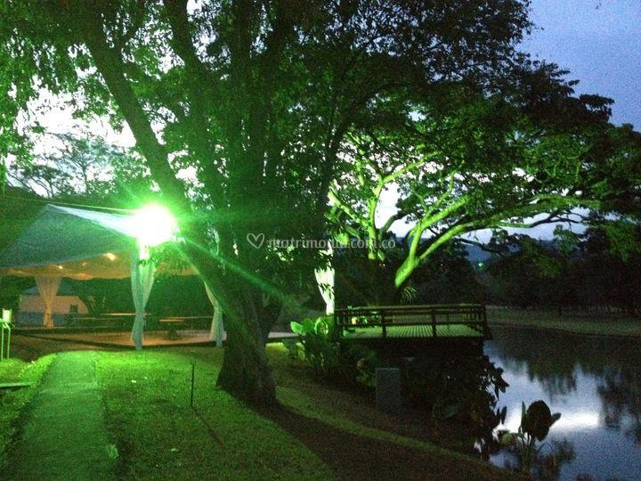 Iluminación entorno