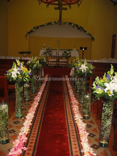 Decoración para ceremonia