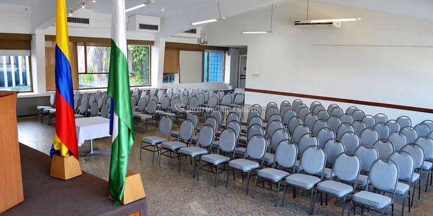 Auditorios y sala de eventos