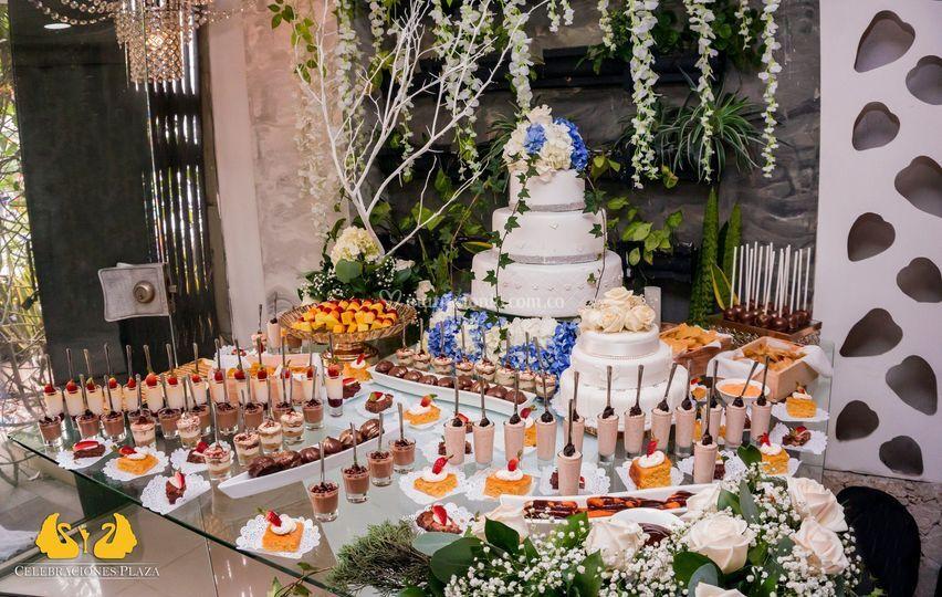 Banquetes mesas de dulce