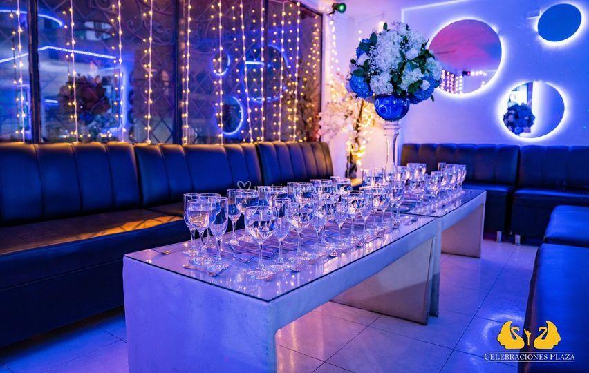 Banquetes zonas vip