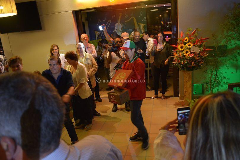 Flashmob Darienzo Lírico