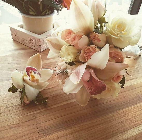 Bouquet y botonier