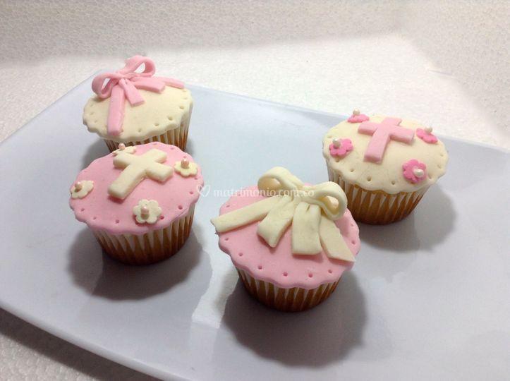 Cupcakes con cobertura