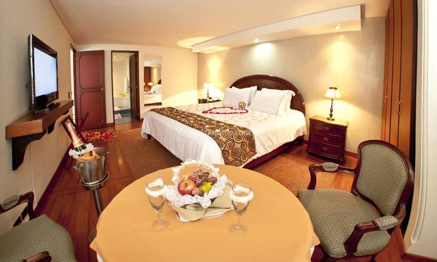 Suite con cama king y jacuzzi