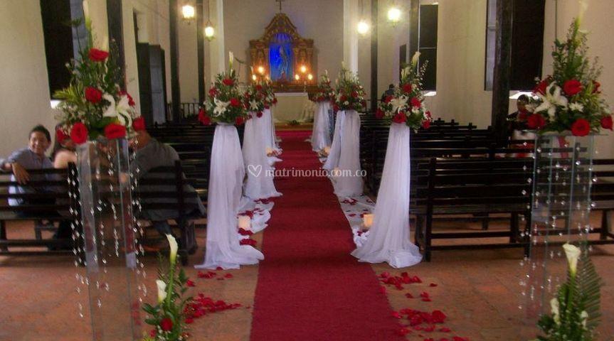 Arreglos florales para su ceremonia