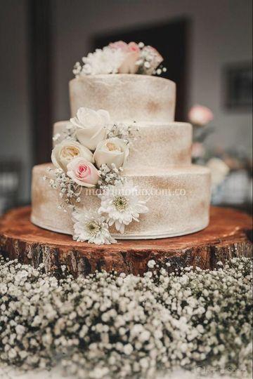 Torta 3 pisos Matrimonio