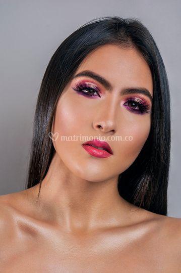 Maquillaje social full color