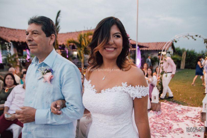 Nata en su boda/Cali Colombia