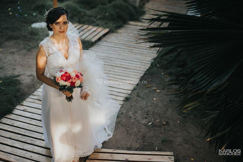Jess en su boda/Cartagena