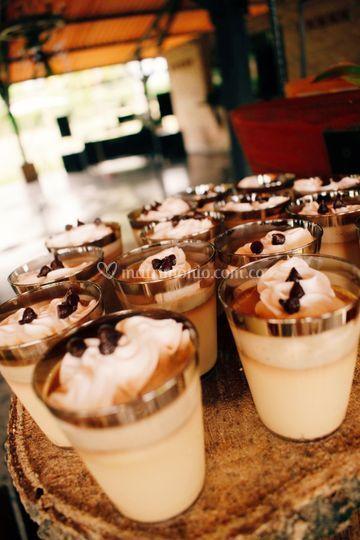Postre Chocolate/Alemendras