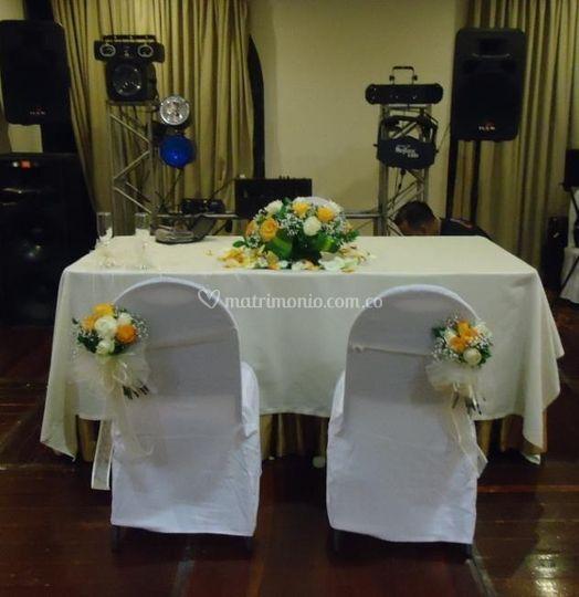 Decoración para ceremonias