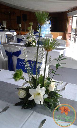 Centro de mesa matrimonio