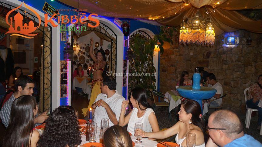 Show de danza árabe