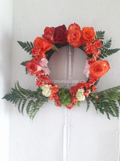 Guirlanda romana para decorar