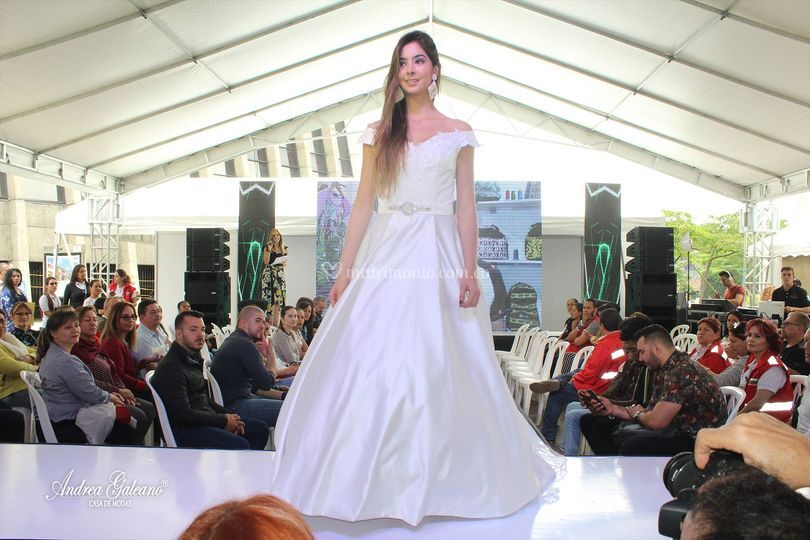Vestido novia imperio