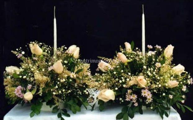 Lindos ramos de rosas