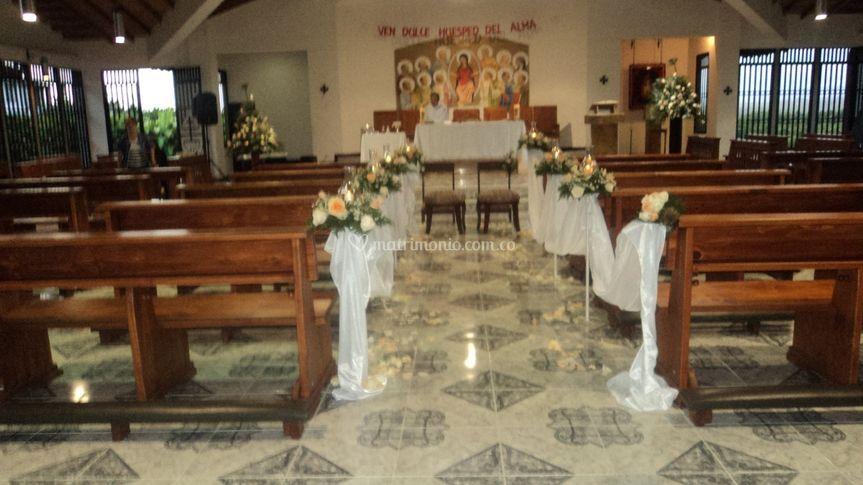 Camino iglesia