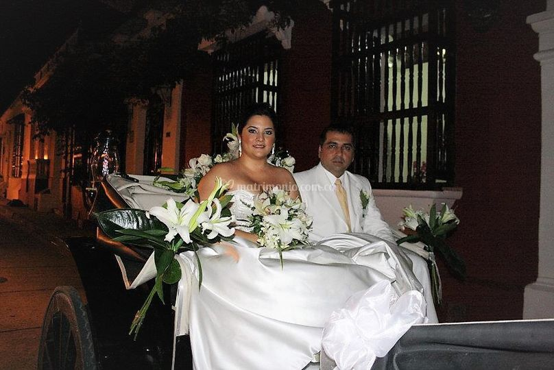 Boda fotos en coches