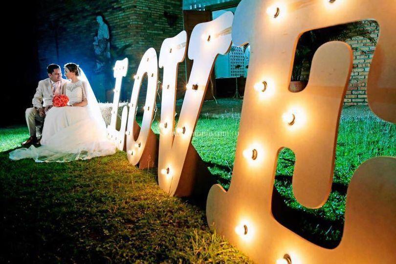 Love de luces