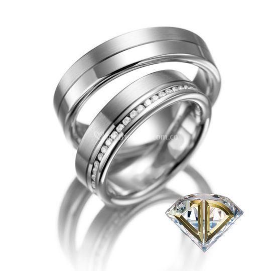 Argolla am 4 de Joyería El Diamante