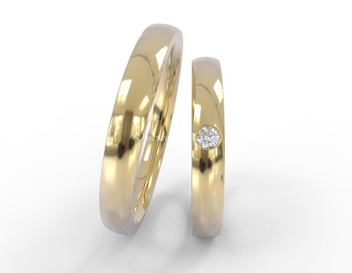 Argollas matrimonio AM6