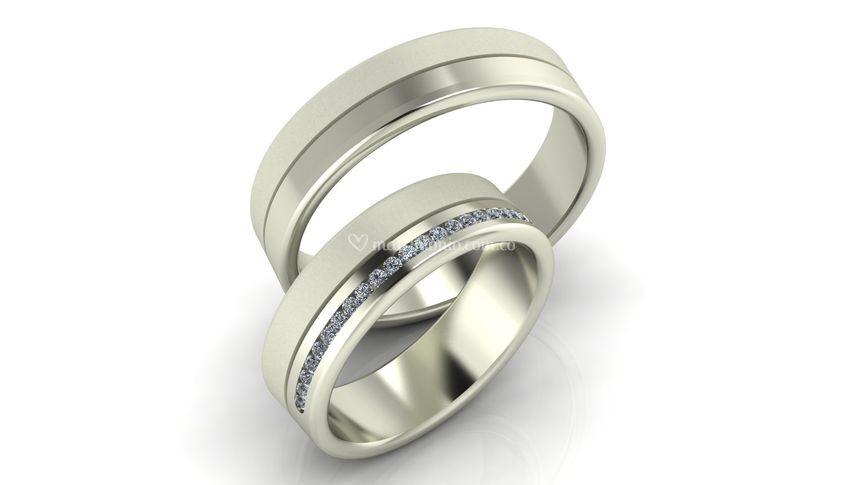 Argollas matrimonio AM4