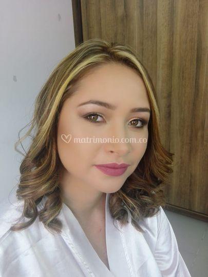 Liliana maquillaje
