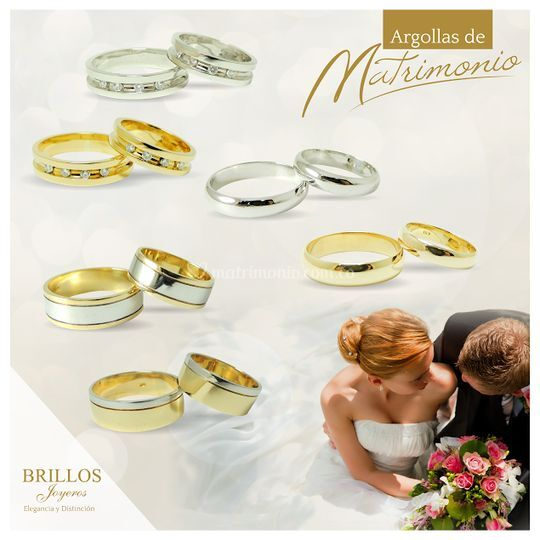 Argollas matrimonio catalogo